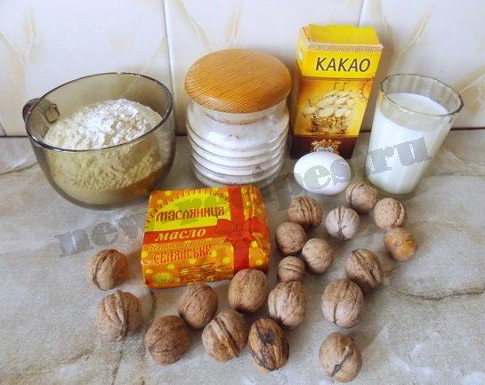 ингредиенты для торта микадо