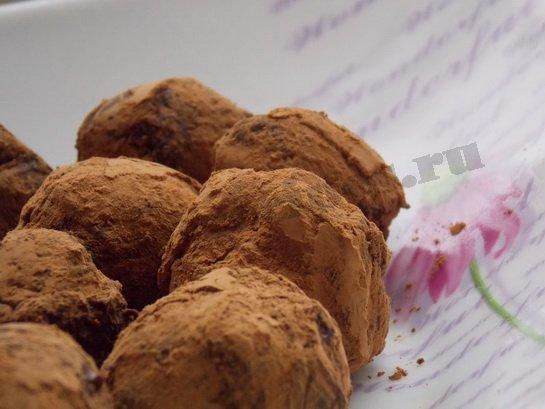 трюфели шоколадные в домашних условиях