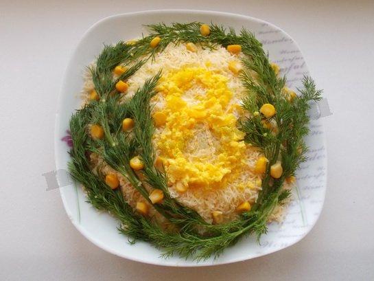 весенний салат рецепт