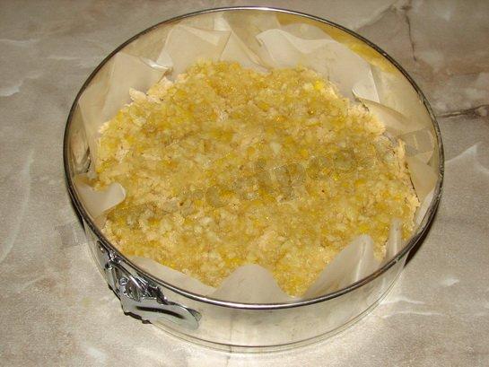 выкладываем лимонную начинку