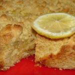 Пирог с лимоном с фото
