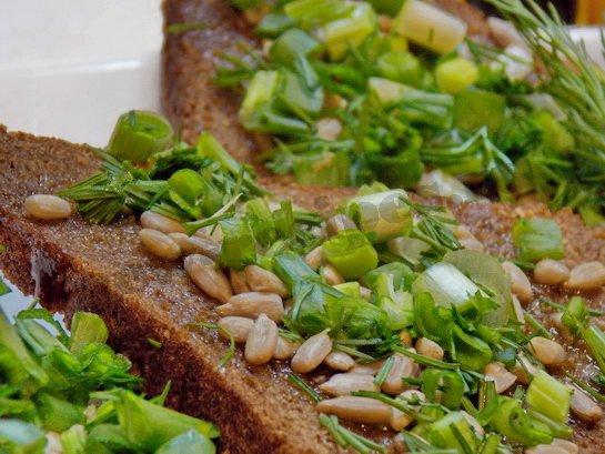 витаминные бутерброды готовы