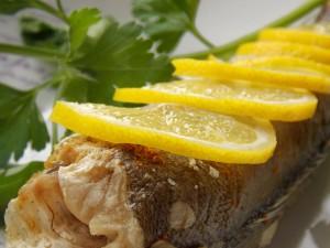 Рыба с лимоном рецепт