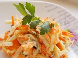 витаминный быстрый салат
