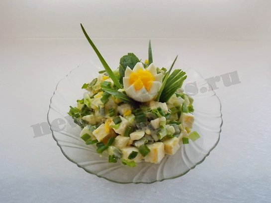 новый весенний салат