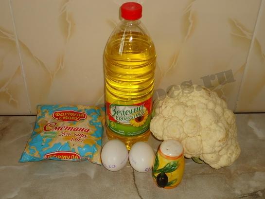 ингредиенты быстро приготовить цветную капусту