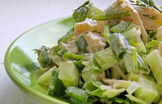 весенний салат готов