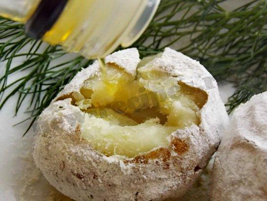 печеная картошка с оливковым маслом