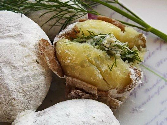 печеная картошка рецепт