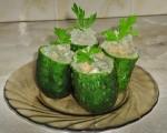 Как приготовить закуску из огурцов «Бочонки»