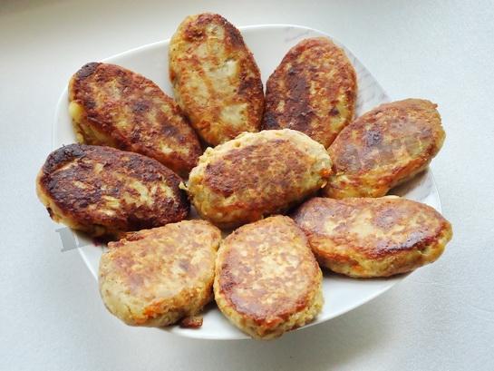 котлеты из гречки и картофеля