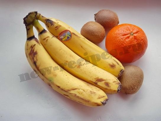 пальма из фруктов ингредиенты