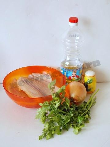 ингредиенты для рыбных кручеников