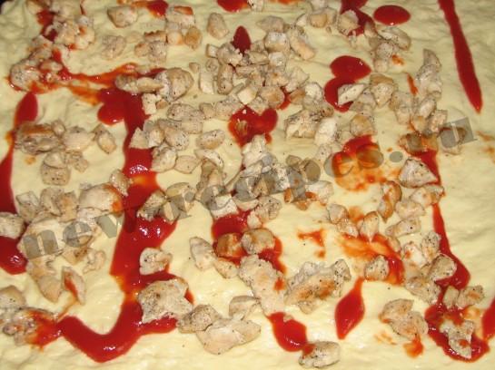 Пицца «Счастье в квадрате» 22