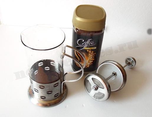 как заварить кофе в френч прессе