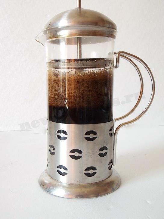 как заварить кофе в прессе