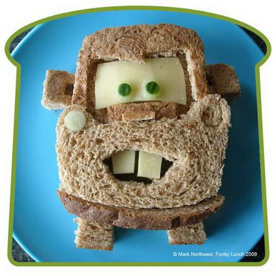 бутерброды для детей фото