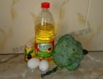 ингредиенты для брокколи в яйце
