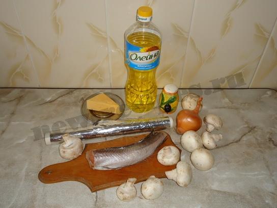 хек запеченный в духовке ингредиенты