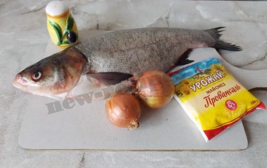 рецепт речной рыбы