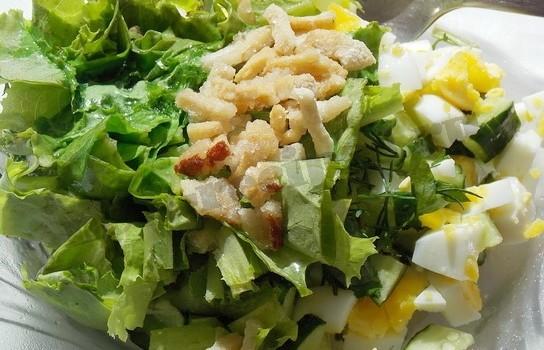 теплый салат рецепт с фото