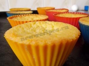 Как приготовить творожные кексы в формочках