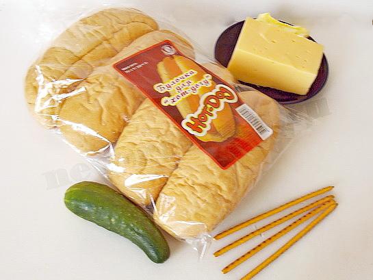ингредиенты для бутербродов машинки