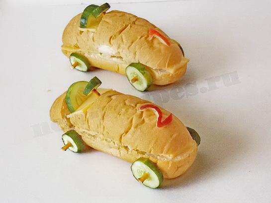 бутерброды машинки готовы