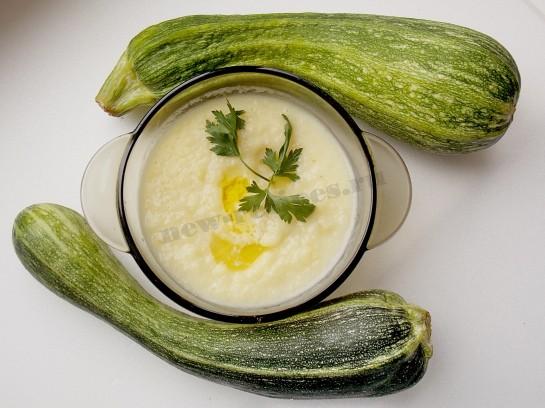 суп пюре из кабачка рецепт