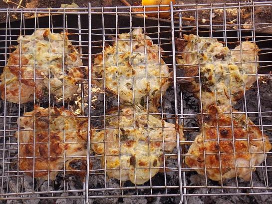куриное барбекю на решетке 1