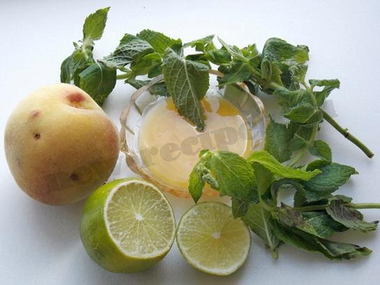 готовим заправку для фруктового салата