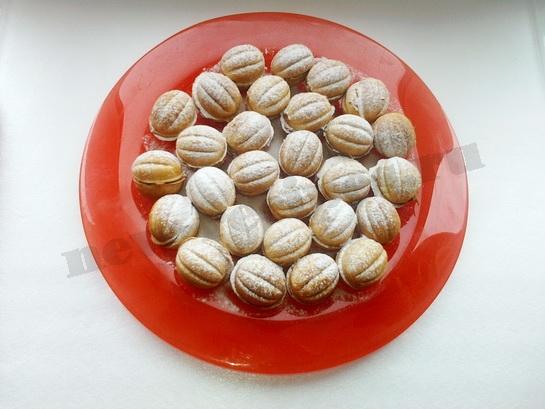 как сделать печенье орешки