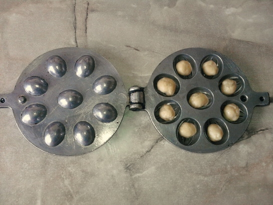 как приготовить печенье орешки