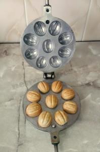 Как сделать орешки в орешнице рецепт с фото