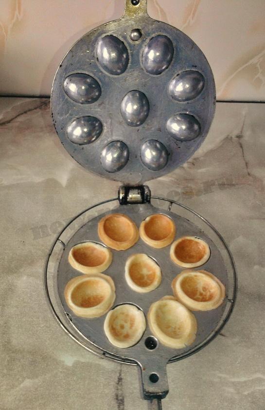 печенье орешки в орешнице