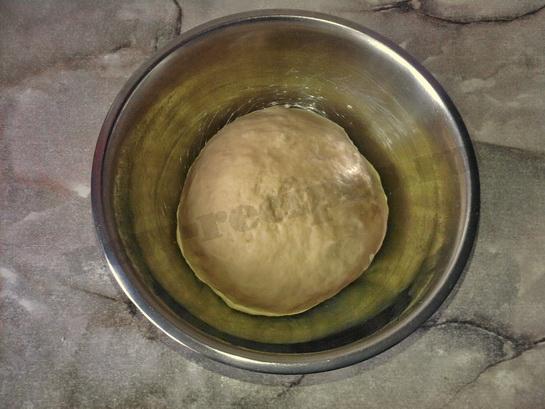 тесто для орешков
