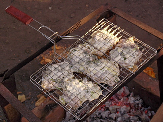 решетка для барбекю 2