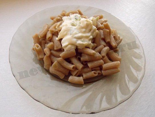 рецепт со ржаными макаронами