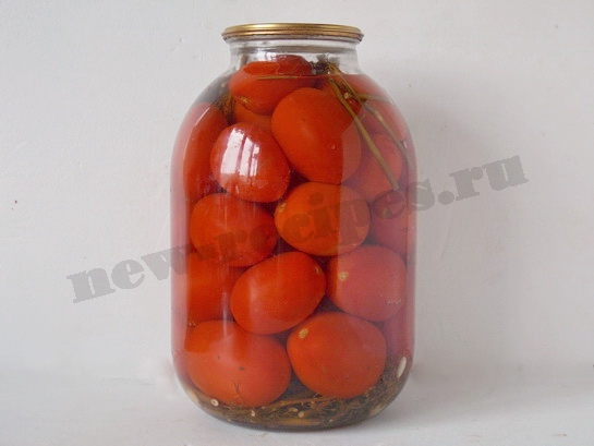 сладкие маринованные помидоры рецепт