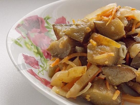 рецепт баклажанов по корейски
