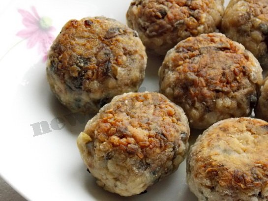 гречаники с грибами фото