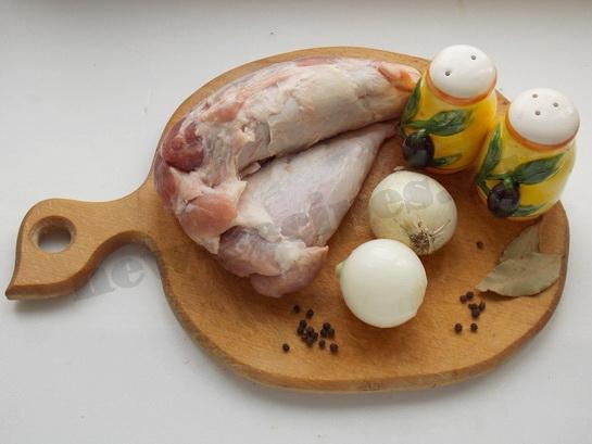 мясо тушеное с луком ингредиенты