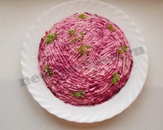 овощной торт готов