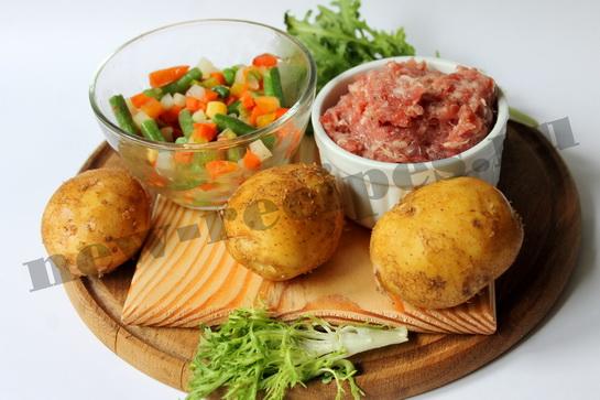 Легкий овощной суп с фрикадельками 1