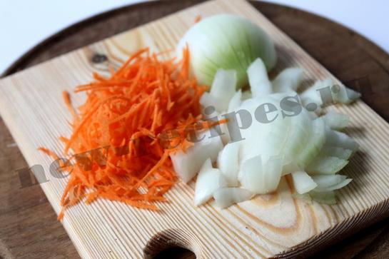 Легкий овощной суп с фрикадельками 5