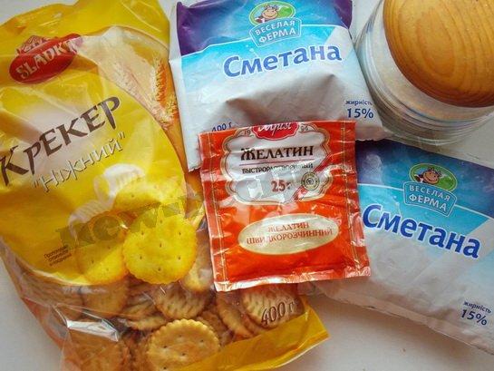 ингредиенты для торта витраж