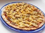 пицца с курицей и шампиньонами