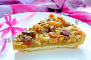 Ореховый тарт рецепт с фото