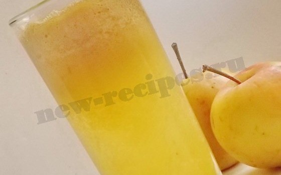 домашний яблочный сок рецепт (5)