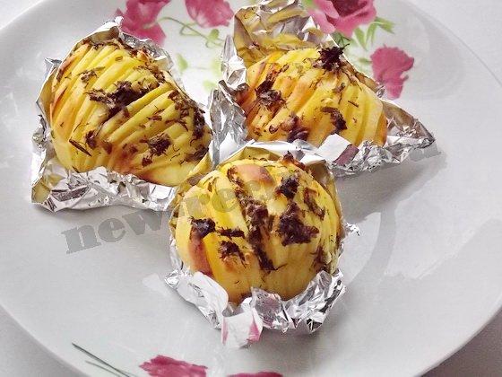 картошка гармошка фото рецепт 1